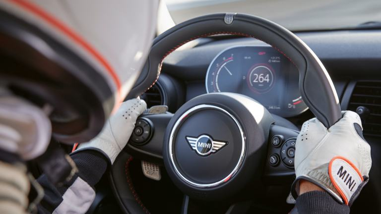 MINI John Cooper Works GP - steering wheel - walknappa leather
