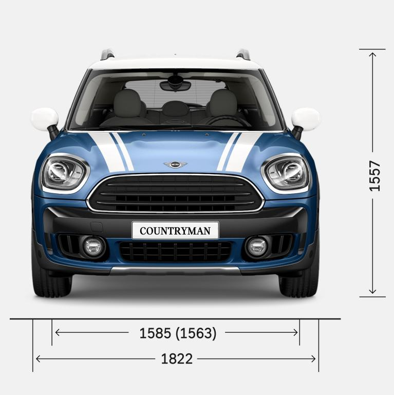 MINI COUNTRYMAN – VUE AVANT