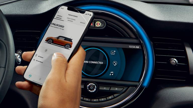 MINI Connected – navigation – application mobile