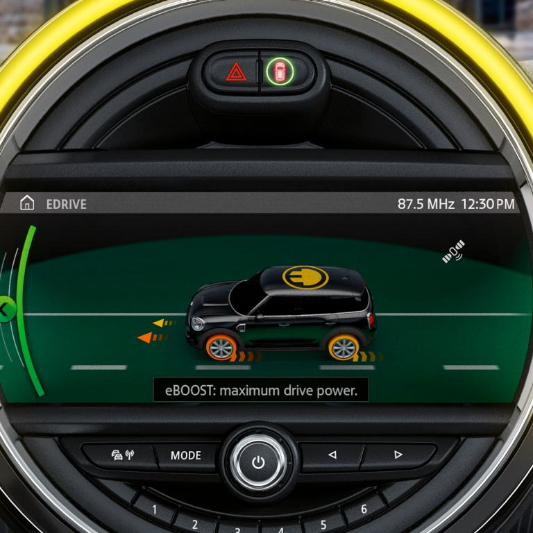mini connected - edrive services - plug in electric hybrid